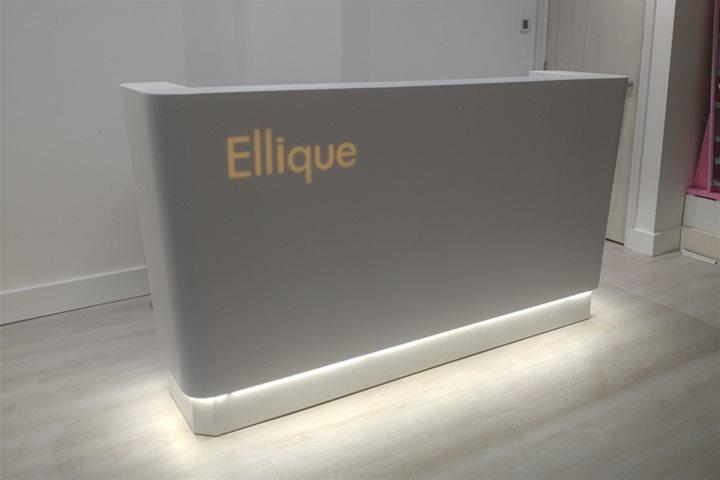 Ellique Beauty Salon Reception Desks, Salon Reception Desk